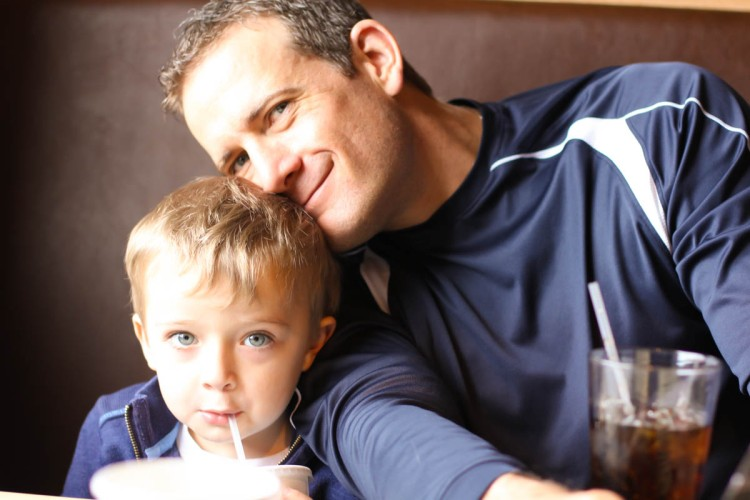 William and his Daddy Ben Walters an Idaho Falls Idaho Author